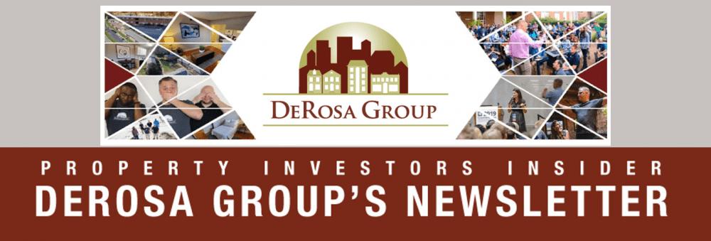 DeRosa Group Newsletter Banner