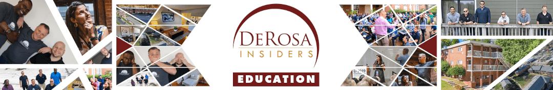 DeRosa Group Learn Banner